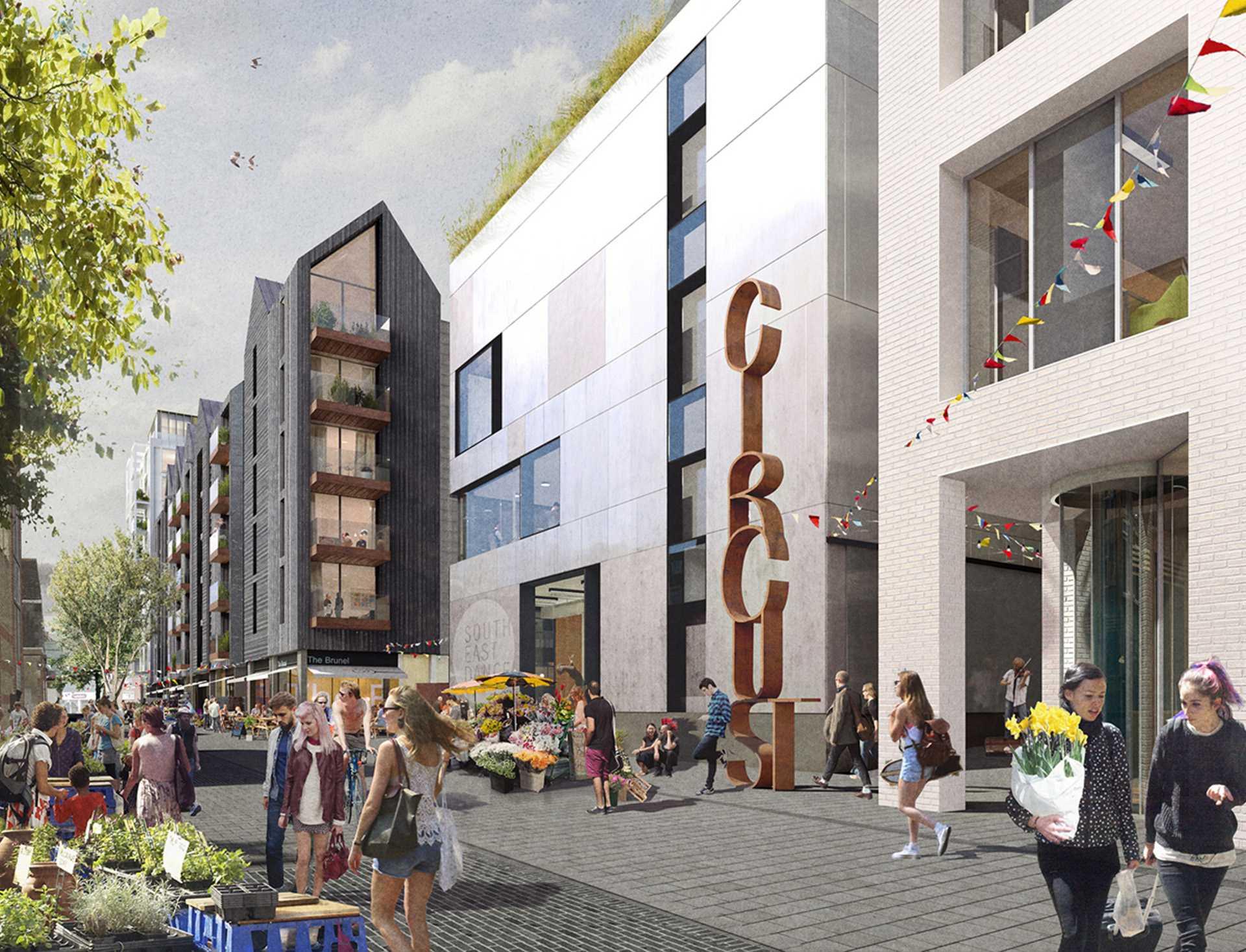 Circus Street, Brighton